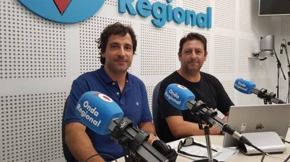 Víctor Gómez y Francisco J. Tomás en Onda Regional