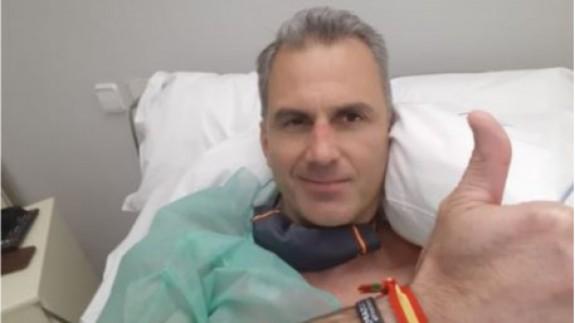 Ortega Smith hospitalizado por trombos como consecuencia de la COVID-19