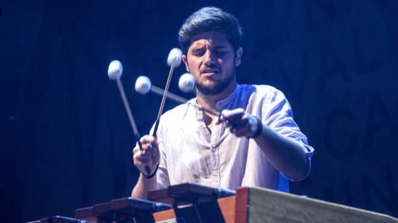 Alejandro Solano, músico y percusionista