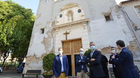 MIRADOR. El Ayuntamiento de Murcia rehabilitará las fachadas de 11 inmuebles para conservar el patrimonio cultural