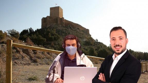 Castillo de Lorca, José Antonio García Ayala y Francisco Morales González