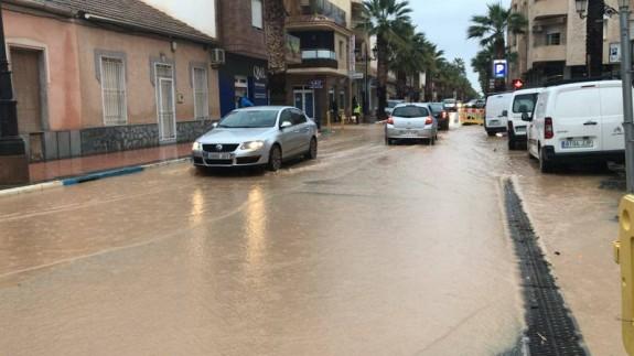GALERÍA | Las inundaciones en el Mar Menor, en imágenes