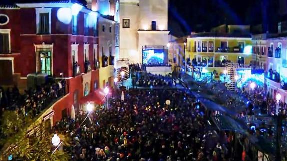 Noche de los tambores en Mula. ORM
