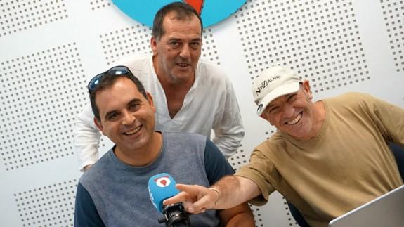 Eduardo Martínez, Luis Carles Dies y Basilio Jorquera