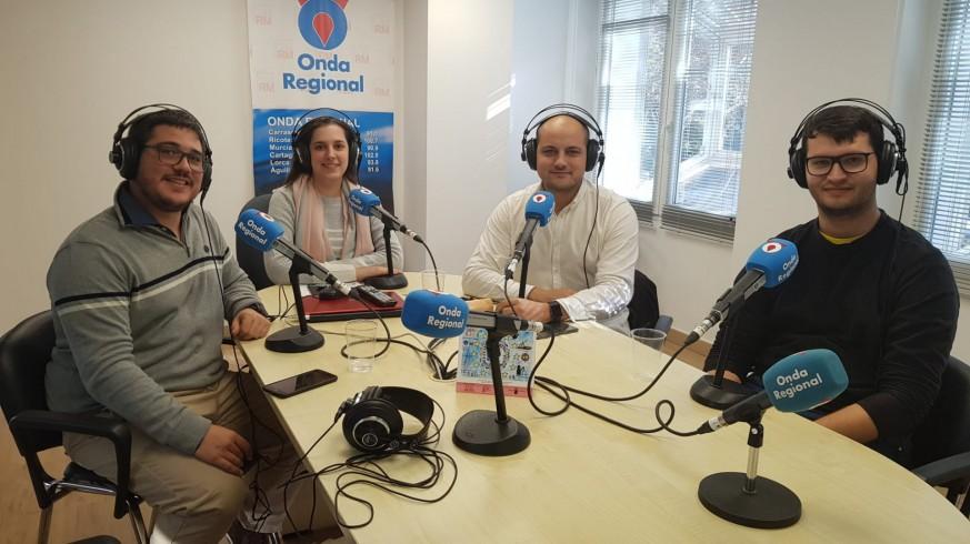 Joaquín Cruces, Ángeles Fontcuberta, Víctor Martínez y Mariano Fernández