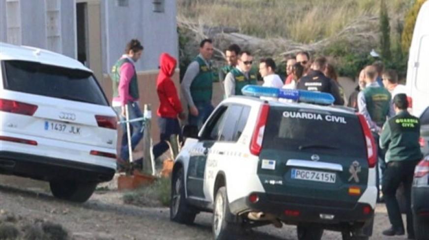 La Guardia Civil traslada a Ana Julia a la finca de Rodalquilar