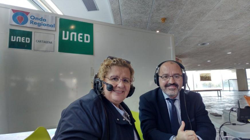 María Luisa Martínez en una imagen de archivo de Onda Regional