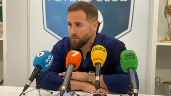 Javi Motos, entrenador del Mar Menor.