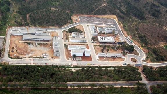 Imagen aérea de la Escuela de Infantería de Marina de Cartagena