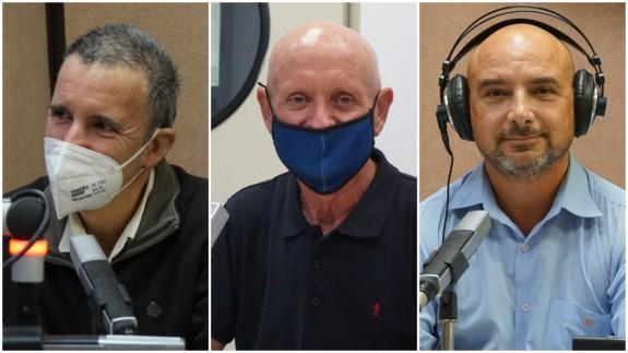 Antonio Urbina, Domingo Coronado y Daniel Ruiz