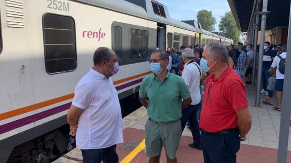 Viaje organizado por la Asociación de Amigos del Ferrocarril.