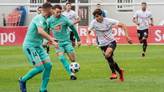 El Lorca Deportiva naufraga y cae goleado en Sevilla (4-0)