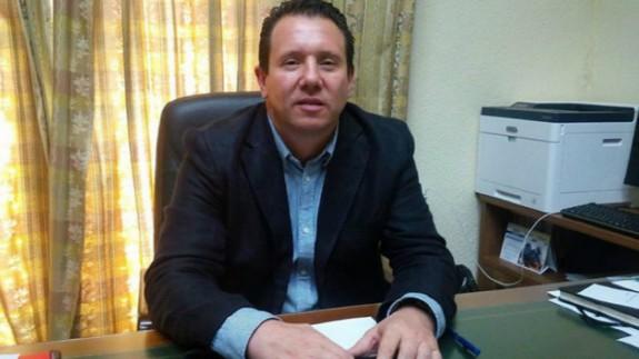Juan Jesús Moreno, alcalde de Mula. Archivo