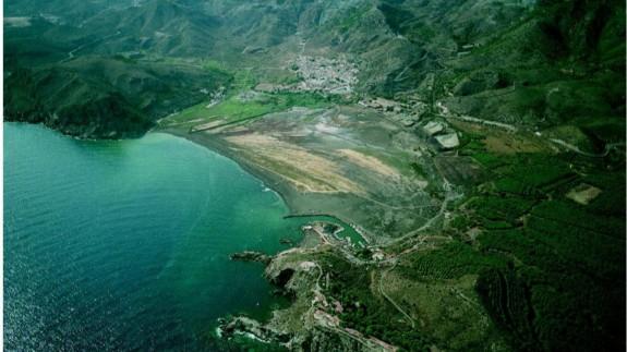 Imagen de la Bahía de Portmán