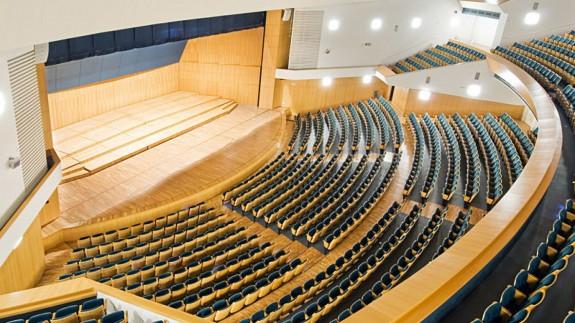 PLAZA PÚBLICA. El Auditorio Víctor Villegas mantiene 5 de los más de 30 espectáculos que ha tenido que cancelar