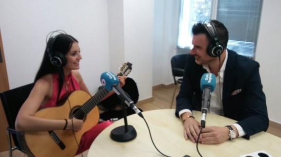 Isabel Martínez y Carlos Piñana en Onda Regional
