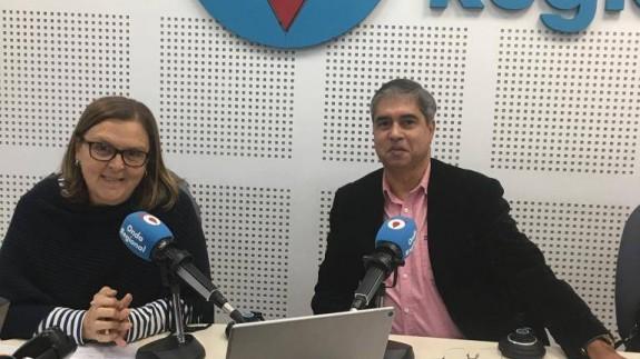 Teresa Allepuz y Tony Velin