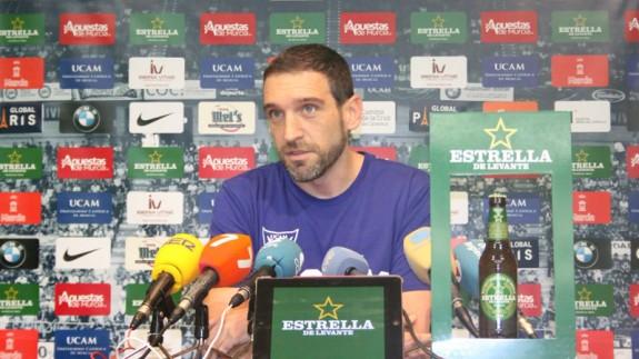 Ibon Navarro (foto: UCAM Murcia CB)