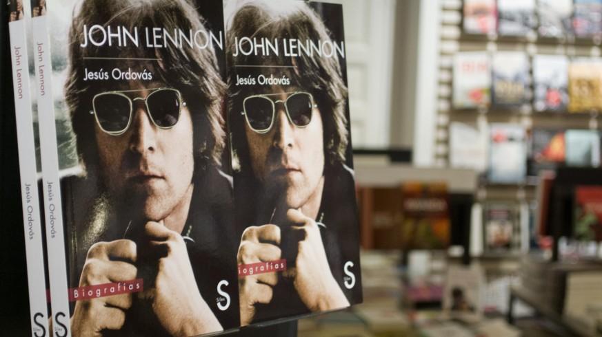 40 HORAS BEATLES. Jesús Ordovás, autor de una biografía de Lennon, clausura el homenaje