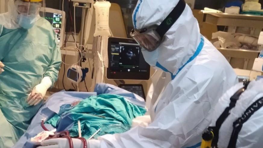 Código ECMO en el hospital Reina Sofía