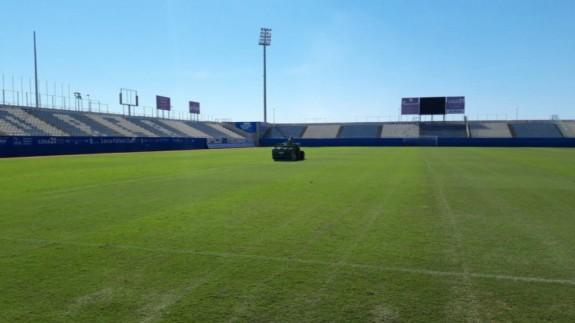 Estadio Artés Carrasco de Lorca. Twitter @DeportesLorca