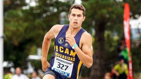 Sergio Jornet, atleta murciano