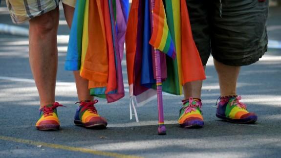 Imagen de archivo de colectivos en defensa de los derechos LGTBI