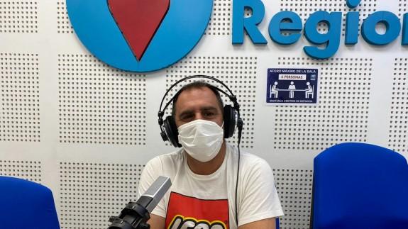 Miguel Ángel Montesinos en Onda Regional