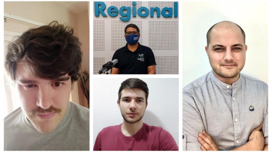 Chema Terol, Joaquín Cruces, Carlos Martínez-Abarca y Víctor Martínez