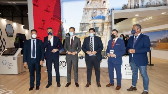 Inauguración del stand de Murcia en Fitur 2021