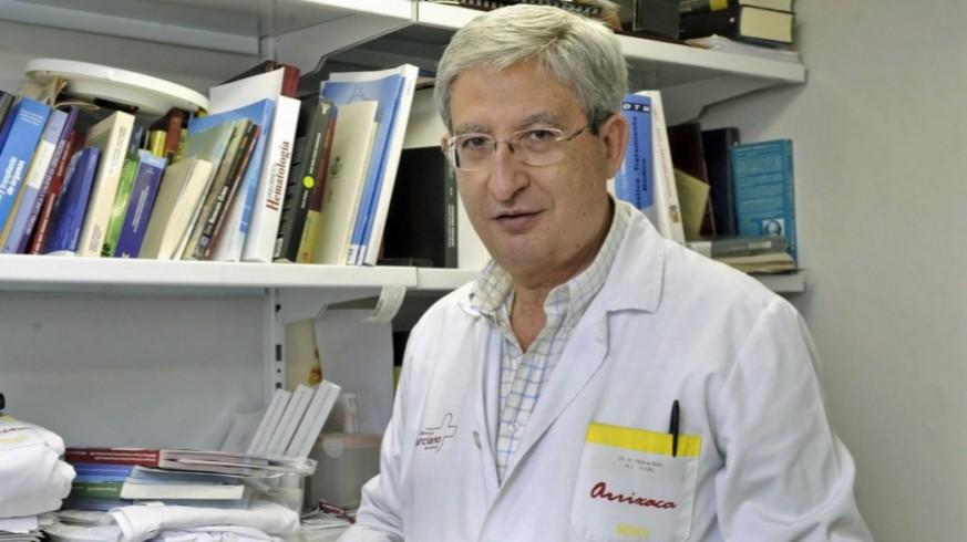 Manuel García Boix, presidente de AECC Murcia / COLEGIO OFICIAL DE MÉDICOS
