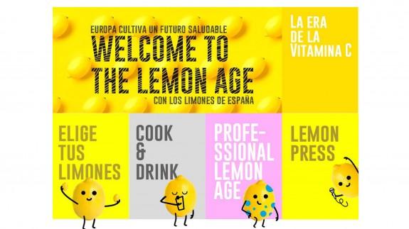 Web de la campaña 'Welcome to the lemon age' de AILIMPO