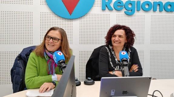 Teresa Allepuz y Beatriz Miguel en Onda Regional