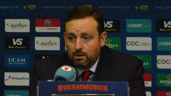 Alejandro Gómez, director general del UCAM Murcia CB