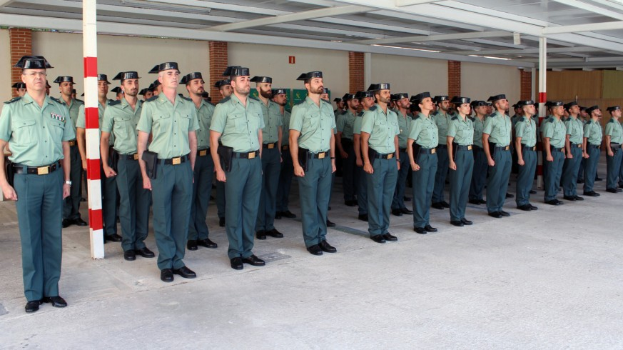 Nuevos efectivos de la Guardia Civil