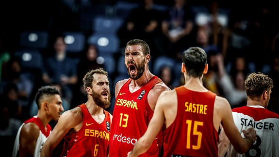 Marc Gasol celebrando una canasta (foto: FIBA)