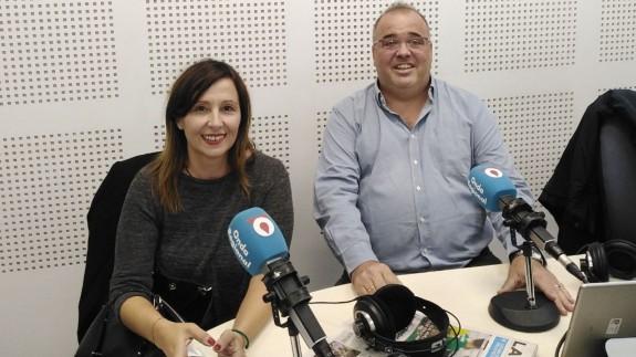 Santiago Álvarez y Blanca Soro, profesores de derecho en la UMU