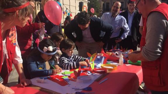 Actos conmemoración día niños con cancer
