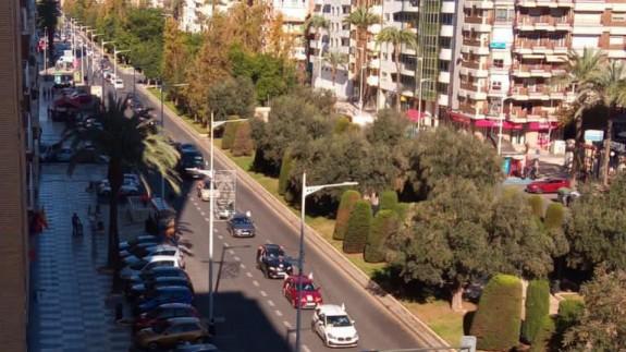 Manifestación en Cartagena esta mañana