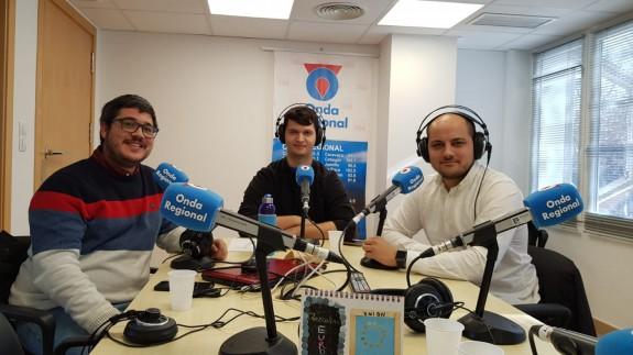 Joaquín Cruces, Mariano Fernández y Víctor Martínez