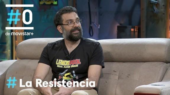 Salva Espín en el programa 'La Resistencia'