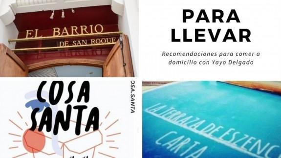 EL MIRADOR T02 Para llevar: recomendaciones de comida a domicilio con Yayo Delgado (11/11/2020)