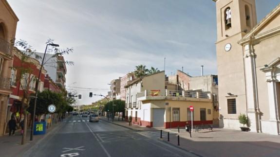 Calle Mayor de Los Pulpites. STREET VIEW