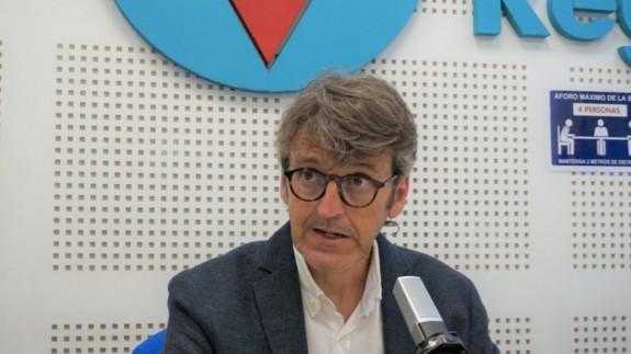 Luis Alberto Marín, consejero de Economía, Hacienda y Administración Digital
