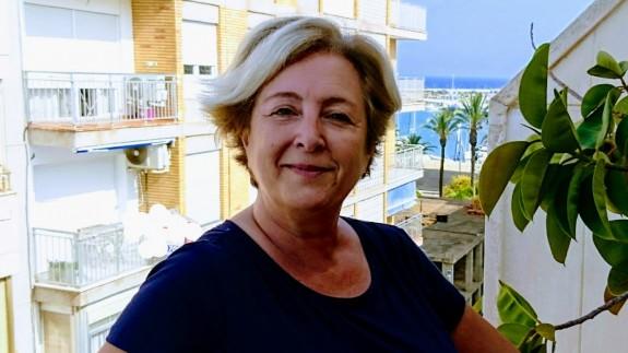 Juana Pérez, presidenta de THADERCONSUMO , que hoy nos ha atendido desde su lugar de vacaciones