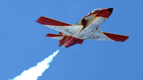Avión de la Patrulla Águila