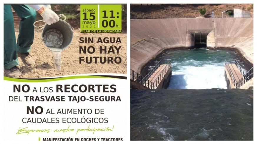 PLAZA PÚBLICA. Acueducto Tajo Segura. 15 de mayo: Todos tenemos que salir a defender el Trasvase