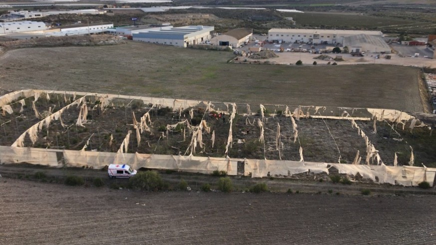 Localizan resguardada en un invernadero a la anciana desaparecida en Mazarrón
