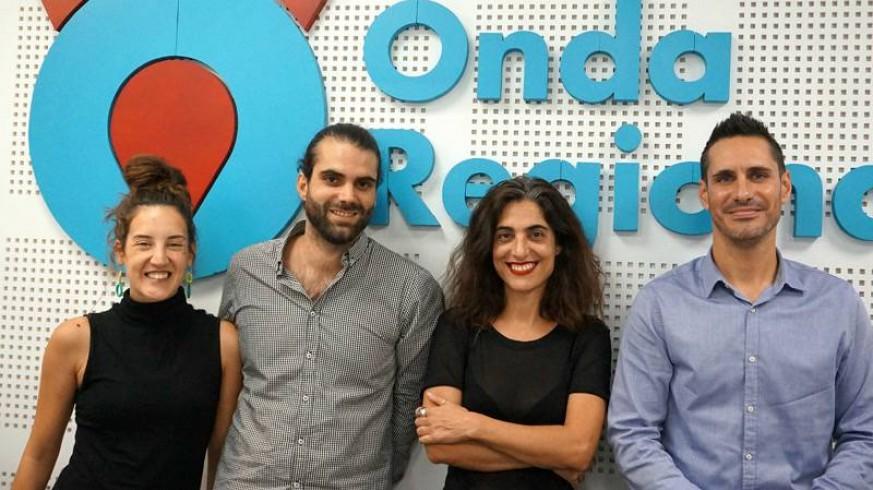 Begoña Ruiz, Ginés Mendoza, Constanza Mas y Raúl Latorre