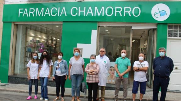 Inauguración de la nueva farmacia de Jumilla